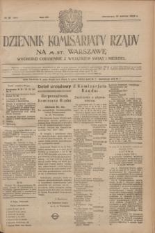 Dziennik Komisarjatu Rządu na M. St. Warszawę.R.4, № 61 (15 marca 1923) = № 685
