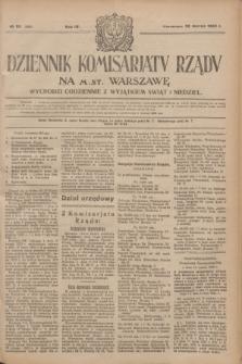 Dziennik Komisarjatu Rządu na M. St. Warszawę.R.4, № 65 (20 marca 1923) = № 690