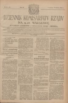 Dziennik Komisarjatu Rządu na M. St. Warszawę.R.4, № 66 (21 marca 1923) = № 691