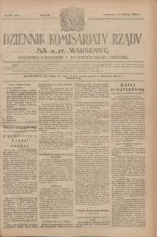 Dziennik Komisarjatu Rządu na M. St. Warszawę.R.4, № 67 (22 marca 1923) = № 692