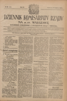 Dziennik Komisarjatu Rządu na M. St. Warszawę.R.4, № 68 (23 marca 1923) = № 693