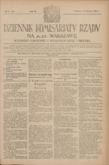 Dziennik Komisarjatu Rządu na M. St. Warszawę.R.4, № 71 (27 marca 1923) = № 696