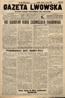 Gazeta Lwowska. 1937, nr49