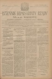 Dziennik Komisarjatu Rządu na M. St. Warszawę.R.4, № 76 (5 kwietnia 1923) = № 701
