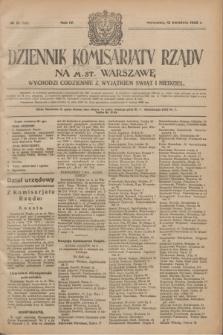 Dziennik Komisarjatu Rządu na M. St. Warszawę.R.4, № 81 (12 kwietnia 1923) = № 706