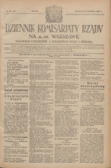 Dziennik Komisarjatu Rządu na M. St. Warszawę.R.4, № 83 (14 kwietnia 1923) = № 708