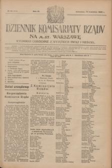 Dziennik Komisarjatu Rządu na M. St. Warszawę.R.4, № 92 (25 kwietnia 1923) = № 717