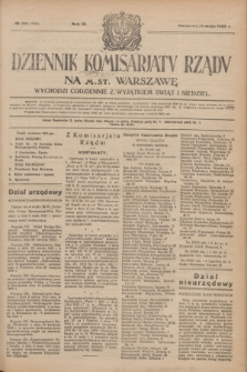 Dziennik Komisarjatu Rządu na M. St. Warszawę.R.4, № 105 (14 maja 1923) = № 730