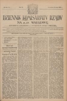 Dziennik Komisarjatu Rządu na M. St. Warszawę.R.4, № 109 (18 maja 1923) = № 734
