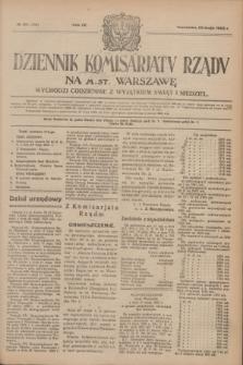 Dziennik Komisarjatu Rządu na M. St. Warszawę.R.4, № 114 (25 maja 1923) = № 739