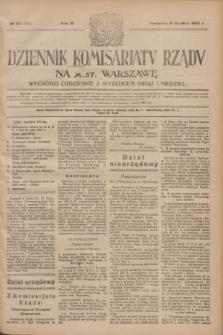 Dziennik Komisarjatu Rządu na M. St. Warszawę.R.4, № 123 (6 czerwca 1923) = № 747