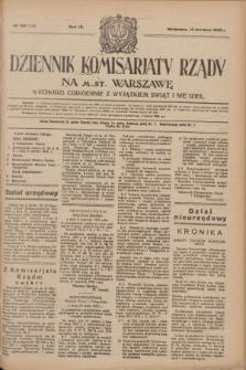 Dziennik Komisarjatu Rządu na M. St. Warszawę.R.4, № 130 (14 czerwca 1923) = № 754