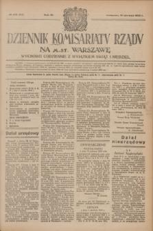 Dziennik Komisarjatu Rządu na M. St. Warszawę.R.4, № 133 (18 czerwca 1923) = № 757