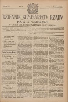 Dziennik Komisarjatu Rządu na M. St. Warszawę.R.4, № 134 (19 czerwca 1923) = № 758
