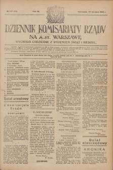 Dziennik Komisarjatu Rządu na M. St. Warszawę.R.4, № 135 (20 czerwca 1923) = № 759