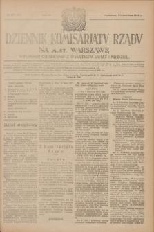 Dziennik Komisarjatu Rządu na M. St. Warszawę.R.4, № 137 (22 czerwca 1923) = № 761