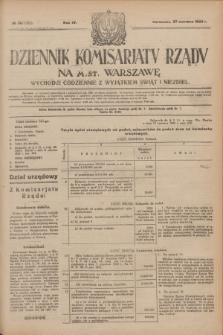 Dziennik Komisarjatu Rządu na M. St. Warszawę.R.4, № 141 (27 czerwca 1923) = № 765