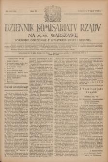 Dziennik Komisarjatu Rządu na M. St. Warszawę.R.4, № 145 (3 lipca 1923) = № 769