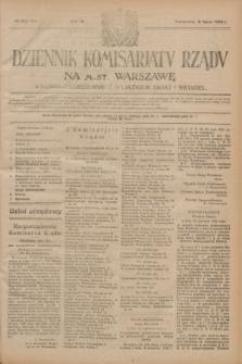 Dziennik Komisarjatu Rządu na M. St. Warszawę.R.4, № 152 (11 lipca 1923) = № 776
