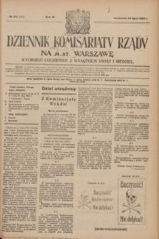 Dziennik Komisarjatu Rządu na M. St. Warszawę.R.4, № 163 (24 lipca 1923) = № 787