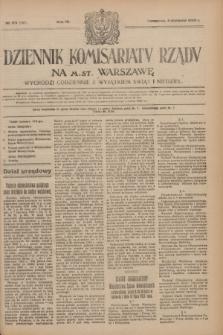 Dziennik Komisarjatu Rządu na M. St. Warszawę.R.4, № 173 (4 sierpnia 1923) = № 797