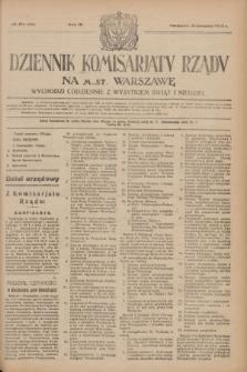 Dziennik Komisarjatu Rządu na M. St. Warszawę.R.4, № 174 (6 sierpnia 1923) = № 798