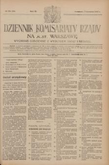 Dziennik Komisarjatu Rządu na M. St. Warszawę.R.4, № 175 (7 sierpnia 1923) = № 799