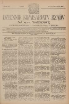 Dziennik Komisarjatu Rządu na M. St. Warszawę.R.4, № 179 (11 sierpnia 1923) = № 803