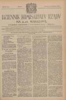 Dziennik Komisarjatu Rządu na M. St. Warszawę.R.4, № 180 (13 sierpnia 1923) = № 804