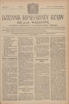 Dziennik Komisarjatu Rządu na M. St. Warszawę.R.4, № 181 (14 sierpnia 1923) = № 805