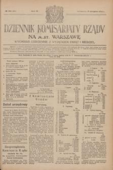 Dziennik Komisarjatu Rządu na M. St. Warszawę.R.4, № 183 (17 sierpnia 1923) = № 807