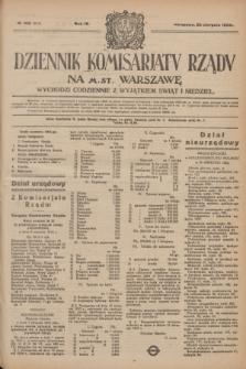 Dziennik Komisarjatu Rządu na M. St. Warszawę.R.4, № 190 (25 sierpnia 1923) = № 814