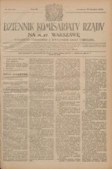 Dziennik Komisarjatu Rządu na M. St. Warszawę.R.4, № 195 (31 sierpnia 1923) = № 819