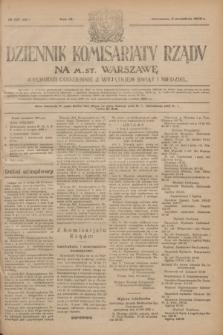Dziennik Komisarjatu Rządu na M. St. Warszawę.R.4, № 197 (3 września 1923) = № 821