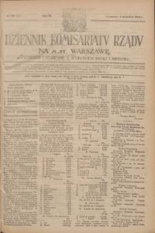 Dziennik Komisarjatu Rządu na M. St. Warszawę.R.4, № 198 (4 września 1923) = № 822