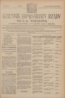 Dziennik Komisarjatu Rządu na M. St. Warszawę.R.4, № 211 (20 września 1923) = № 835