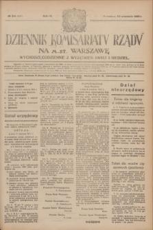 Dziennik Komisarjatu Rządu na M. St. Warszawę.R.4, № 214 (24 września 1923) = № 838