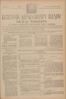 Dziennik Komisarjatu Rządu na M. St. Warszawę.R.4, № 215 (25 września 1923) = № 839