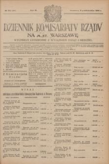Dziennik Komisarjatu Rządu na M. St. Warszawę.R.4, № 221 (2 października 1923) = № 845