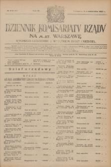 Dziennik Komisarjatu Rządu na M. St. Warszawę.R.4, № 223 (4 października 1923) = № 847
