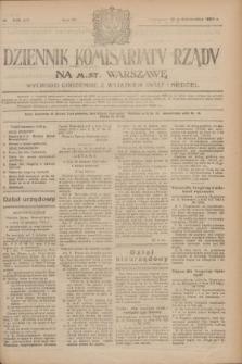 Dziennik Komisarjatu Rządu na M. St. Warszawę.R.4, № 233 (16 października 1923) = № 857