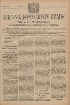 Dziennik Komisarjatu Rządu na M. St. Warszawę.R.4, № 235 (18 października 1923) = № 859
