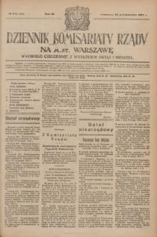 Dziennik Komisarjatu Rządu na M. St. Warszawę.R.4, № 242 (26 października 1923) = № 866