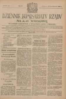 Dziennik Komisarjatu Rządu na M. St. Warszawę.R.4, № 245 (30 października 1923) = № 869