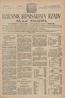 Dziennik Komisarjatu Rządu na M. St. Warszawę.R.4, № 247 (2 listopada 1923) = № 871