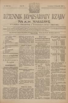 Dziennik Komisarjatu Rządu na M. St. Warszawę.R.4, № 249 (5 listopada 1923) = № 873