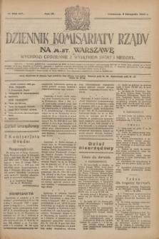 Dziennik Komisarjatu Rządu na M. St. Warszawę.R.4, № 253 (9 listopada 1923) = № 877