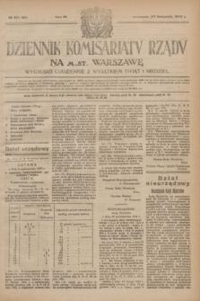 Dziennik Komisarjatu Rządu na M. St. Warszawę.R.4, № 271 (30 listopada 1923) = № 895