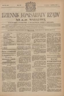 Dziennik Komisarjatu Rządu na M. St. Warszawę.R.4, № 272 (1 grudnia 1923) = № 896