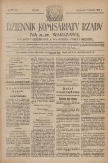 Dziennik Komisarjatu Rządu na M. St. Warszawę.R.4, № 277 (7 grudnia 1923) = № 901